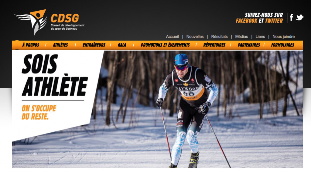 www.sportgatineau.ca screenshot